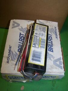5 New Old Stock Advance Rlq 120 tp Ballasts
