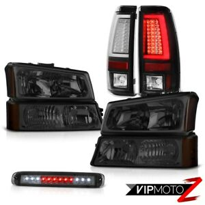 03 06 Chevy Silverado Taillights Roof Cab Lamp Bumper Headlights Light Bar Led