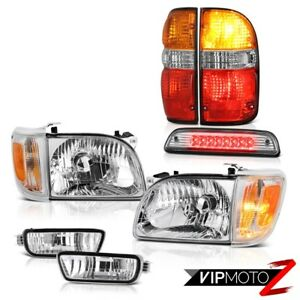 2001 2004 Toyota Tacoma 4wd High Stop Light Red Taillamps Headlamps Bumper Led