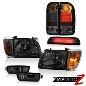 01 04 Toyota Tacoma Limited 3rd Brake Lamp Rear Lamps Headlamps Bumper Oe Style