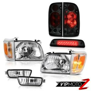 01 04 Toyota Tacoma Sr5 Roof Brake Light Tail Lights Headlamps Bumper Oe Style