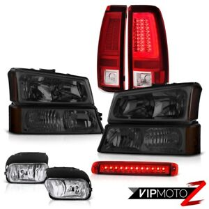 03 06 Chevy Silverado Tail Lamps High Stop Lamp Fog Signal Headlamps Brightest