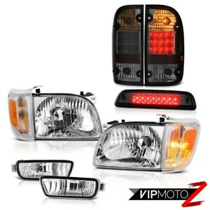 01 04 Toyota Tacoma 4x4 Roof Brake Lamp Tail Lights Headlamps Bumper Replacement