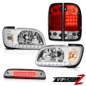 01 02 03 04 Toyota Tacoma 4x4 Chrome 3rd Brake Lamp Tail Lights Headlamps Bumper