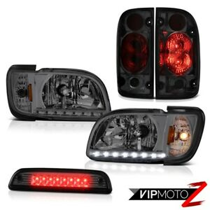 01 04 Toyota Tacoma Sr5 Third Brake Lamp Tail Lights Headlights Bumper Assembly