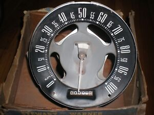 1951 Ford Custom 100 Mph Speedometer Asy Stewart Warner New