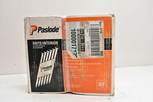 Paslode Framing Nails Brite interior Round Drive 3 1 4 X 131 2 500 Qty 650839