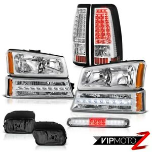 2003 2006 Chevy Silverado Roof Cab Light Fog Lamps Tail Brake Signal Headlights