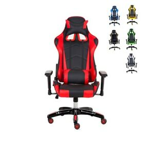 Racing Chair Executive High Back Game Chair Adjustable Reclining Office Chairs