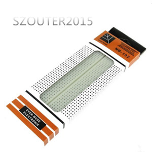Mb 102 Solderless Breadboard Protoboard 830 Tie Points 2 Buses Test Circuit