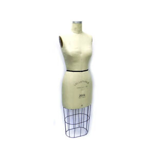 Fabulous Fit Female Size 8 2004 Pro Series Collapsible Dress Form W Cage Wiring
