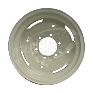 D5nn1007a 16x8 Front Wheel Rim For Ford Tractor 8n 900 9n Naa 1520 1640