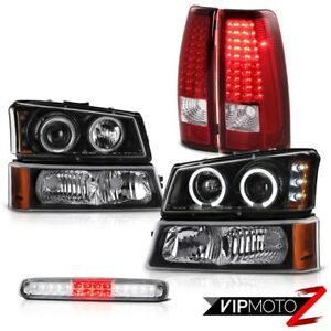03 06 Chevy Silverado Signal Lamp Euro Clear Roof Cab Light Headlamps Taillights
