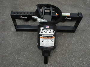 Bobcat Skid Steer Attachment New Lowe Bp210 Hex Auger Drive Unit Ship 199