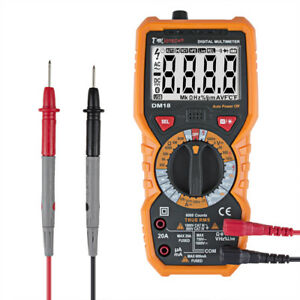Dmiotech Dm18 Lcd Digital Multimeter Dc Ac Voltage Current Ohm Resistance Test