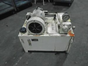 Nachi Hydraulic Power Supply 2 2 Kw 200 220v 3ph