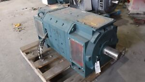 500 Hp Reliance Dc Electric Motor 1750 Rpm C4412atz Frame Dpfv 500 V