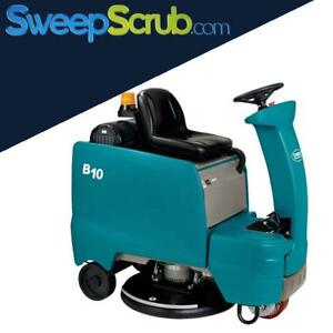 Tennant B10 Battery Operated Rider Floor Burnisher Fully Operational
