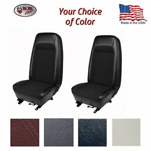 1979 80 Fox Body Mustang High Back Bucket Seat Upholstery Any Color By Tmi