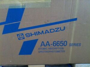 Shimadzu Aa 6650 Atomic Absorption Spectrophotometer New