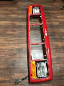 97 01 Jeep Cherokee Xj Sport Classic Header Panel Genuine Oem Flame Red Read Des