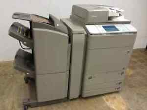 Canon Imagerunner Advance C7260 Multifunction Color Copy print scan W finisher