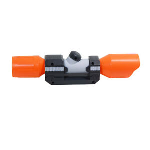 Orange Tactical Scope Sight Attachment ABS Plastic Toy for Nerf Modify Toy $17.99
