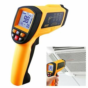 New 50 1 Ds Digital Professional Infrared Ir Thermometer 0 1 1 Em Laser 0 2102 f