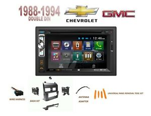 1988 1994 Chevy Gmc Suv Full Size Trucks Car Stereo Kit Bluetooth Aux Usb Dvd