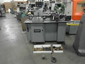 Hardinge Super Precision Lathe Hc Threading Attachment Lot Of Tooling
