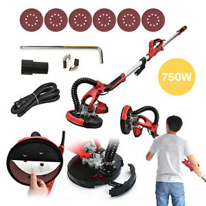 800w Drywall Sander Commercial Electric Variable Speed Sanding Black