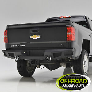 15 17 Chevy Silverado 2500 gmc Sierra 2500 Rear Bumper Black Heavy Duty