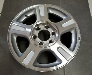 Ford Expedition F150 Truck 17 2003 2004 2005 2006 2007 Silver Oem Wheel Rim