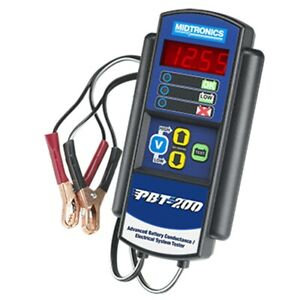 Automotive Battery Conductance Electrical System Analyzer Midpbt200 Brand New