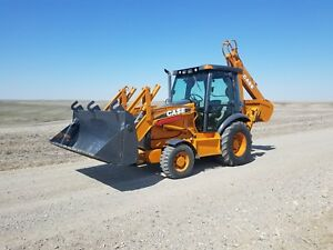 Backhoe Case 580 Super M Series 3 Farm Tractor Loader Backhoe