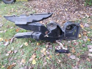 1985 Ford F 150 250 350 Hvac Heater Core Vent Box Assembly Under The D