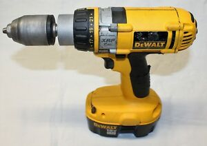 Dewalt 18 Volt Cordless Hammer Drill Battery And Charger