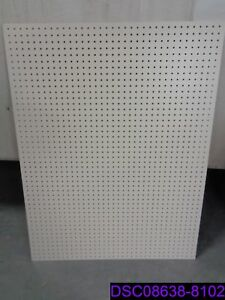 Qty 6 Boards Lozier Back Extension Pegboard 48 W X 36 H P n Be436pc