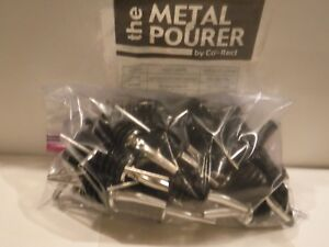 Co rect Chrome Metal Pourer pack Of 40 Mixed New Used