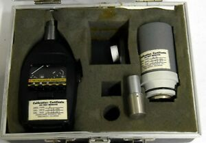 General Radio Genrad 1565 c Sound Level Meter Calibrator W 1567