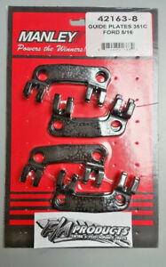 Manley 42163 8 Ford 351c Boss 302 351 Cleveland 5 16 Pushrod Guideplates