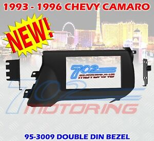 1993 1996 Chevrolet Camaro Double Din Car Stereo Radio Dash Installation Kit