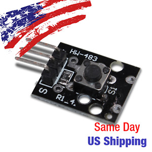 Momentary Tactile Push Button Module Dc 5v 12v Switch Arduino Tact Us Ship Today
