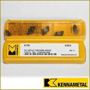 Nt2rk Kc5010 Kennametal Insert Nt2r 10 Inserts Factory Pack