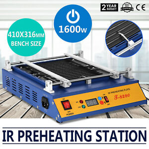Ir Preheating Oven T8280 Rework Station 1600w Pcb Board 0 450 Reliable Seller