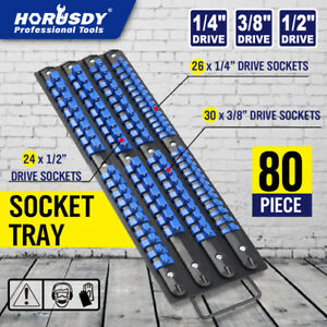 80 Industrial Abs Mountable Socket Storage Rail Rack Holder Organize 1 4 3 8 1 2