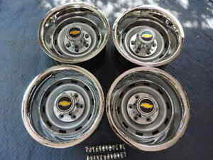 1967 72 87chevy Truck 2wd 6 Lug 15x8 Gm Original Truck Rally new Cap