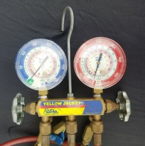 Ritchie Yellow Jacket R 410a Test And Charging Manifold 3 1 8 Gauges