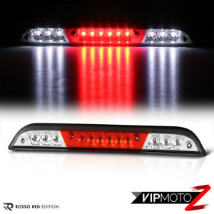 15 18 Ford F150 Red Lens Clear Led 3rd Third Chmsl Brake Cargo Light Tail Lamp
