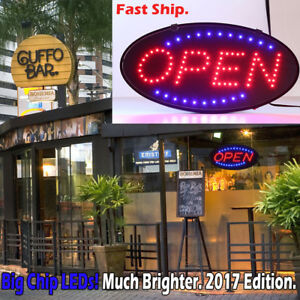 Ultra Bright Led Neon Light Animated Motion With On off Open Business Sign Ea1
